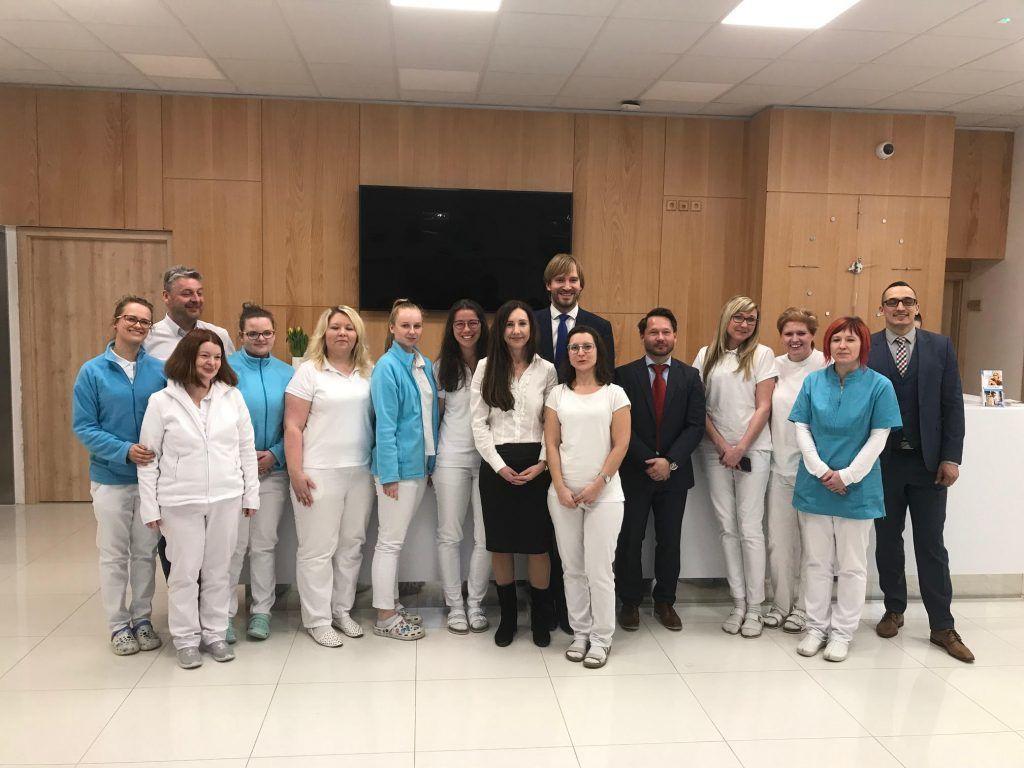 Ministr zdravotnictví navštívil Premium Clinic